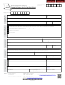 Form 472 - Request For Sales Or Use Tax Cash Bond Refund