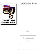 Poetry Reading Invitation Template