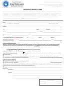 Transcript Request Form - Kapiolani Community College
