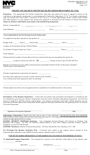 Form Op 175w - Request For Waiver Of Restriction On Per Session Employment - Nyc Department Of Education - New York