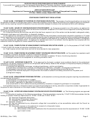 Notification Of Proposed Regulations Changes Sheet