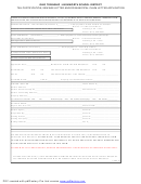 Tax Certification, Sewage Letter And/or Municipal Claim Letter Application Form - Ohio Township / Avonworth School District