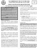 Form Tc108 - Application For Correction Of Assessed Value For One, Two Or Three-family House Or Other Class One Property Only - 2010