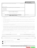 Form Sc-3038 - Decalration And Application By Defendant - County Of Santa Barbara