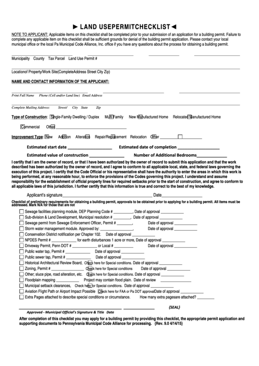 Top Pa Permit Form Templates free to download in PDF, Word and ...