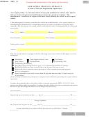 Form Mv2012 - Low-speed Vehicle Affidavit