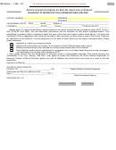 Form Dor-mv215 - Affidavit In Support Of Interstate Title (nonnegotiable)