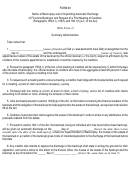 Form 69 - Notice Of Bankruptcy And Of Impending Automatic Discharge Of First-time Bankrupt, And Request Of A First Meeting Of Creditors