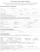 Patient Medical (confidential) Form