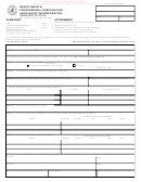 Form Sfn 13002w - North Dakota Professional Corporation Articles Of Incorporation