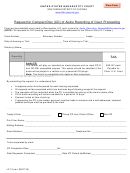 Form Lf-13 - Request For Compact Disc (cd) Of Audio Recording Of Court Proceeding