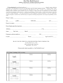 On The Ball Soccer Medical Release And Registration Form