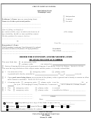 Order Form Of Extension And/or Modification Of Civil Contact Order