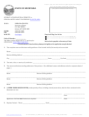 Form 16 - Affidavit Of Cancellation Of Domestic Or Foreign Limited Liability Partnership
