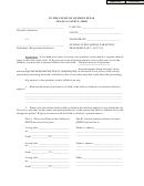 Affidavit Regarding Parenting Form - The Court Of Common Pleas - Geauga County - Ohio