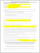 Member Authorization To Disclose Health Information Sheet