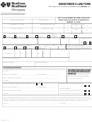 Form F7403r07 - Bcbs Subscriber Claim Form