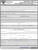 Form Ds-340 - Application For Extension Of Time For Grading/right-of-way Permits - City Of San Diego Development Services -2013