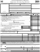 Form 41 - Fiduciary Income Tax Return - 2001