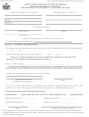 Form Rp-928-b - Application For Installment Payments For Real Property Owned By Recipients Of Supplemental Security Income