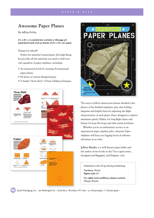 awesome paper planes template printable pdf download