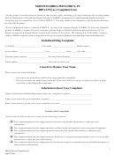 North Florida Pediatrics, Pa Hipaa Privacy Complaint Form
