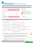 Schedule C - Attach To Form Il-1363 - Pharmaceutical Benefits - 2009