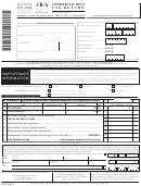 Form Cr-a - Commercial Rent Tax Return - 2005/06