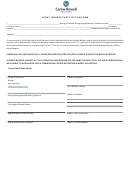 Agent / Broker Participation Form - Carew Rowell Real Estate