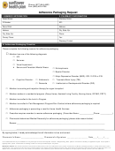 Adherence Packaging Request Form