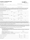 Change Of Ownership Form - Colonial Life