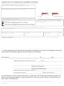 Form Miucc7 - Fraudulent Ucc Financing Statement Affidavit - Michigan Department Of State