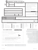 Form Inc 250 - Individual Income Tax Return