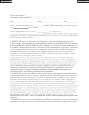 Home Inspection Contract Form