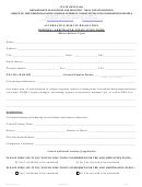 Form 522a- Referee / Arbitrator Application Form