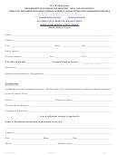 Form 522a - Mediator Application Form