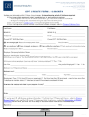 Opt Update Form - 12-month