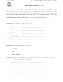 Form Rp-1126 - Declaration Of Interest