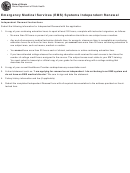 Form Ioci 12-234 - Emergency Medical Services (ems) Systems Independent Renewal - Illinois Department Of Public Health