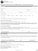 Form Ioci 12-234 - Emergency Medical Services (ems) Systems Reactivation Request Form - Illinois Department Of Public Health