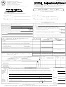Form Boe-571-l - Business Property Statement - 2010