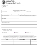 Re-application For License / Approval To Operate A Hospice - Indiana Department Of Health