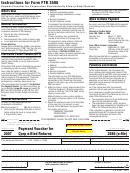 California Form 3586 (e-file) - Payment Voucher For Corporation E-filed Returns - 2007