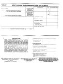 Form Wv/tel-500 - West Virginia Telecommunications Estimate