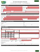 Air Import Quotation Request Form