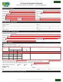 Air Export Quotation Request Form
