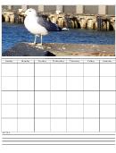 Seagal Weekly Planner Template