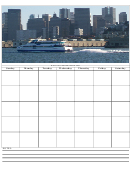 City Weekly Planner Template
