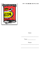Can Of Beer Trailer Park Party Invite Template