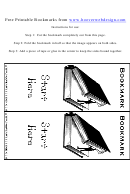 Bookmark Template